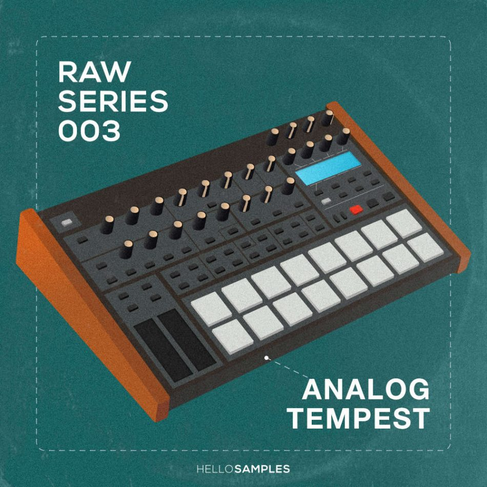 Analog Tempest sound pack in Wav - Ableton - Maschine - Akai MPC format