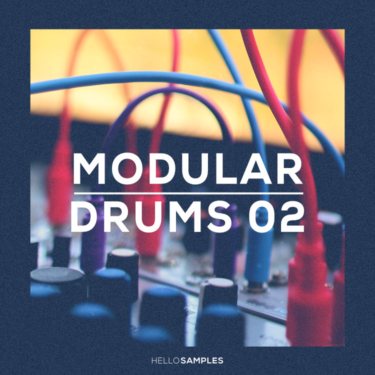 Modular Drums 2 sound pack in Wav - Ableton - Maschine - Akai MPC format